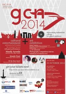 GCN 2014 Event Poster