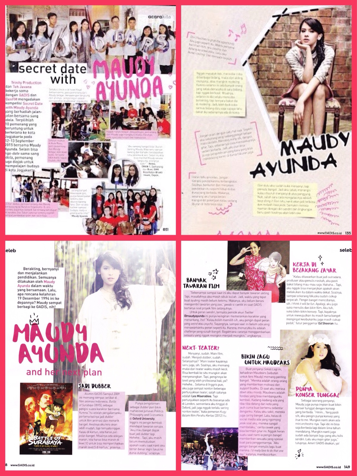Out Now GADIS magazine!