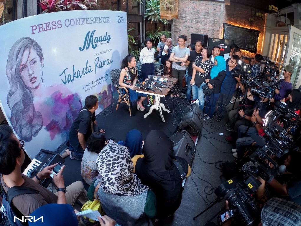 """Press Conference """"Jakarta Ramai"""""""