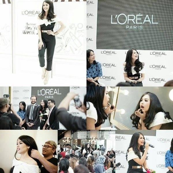MAUDY AYUNDA New Brand Ambassador of L'oreal Paris